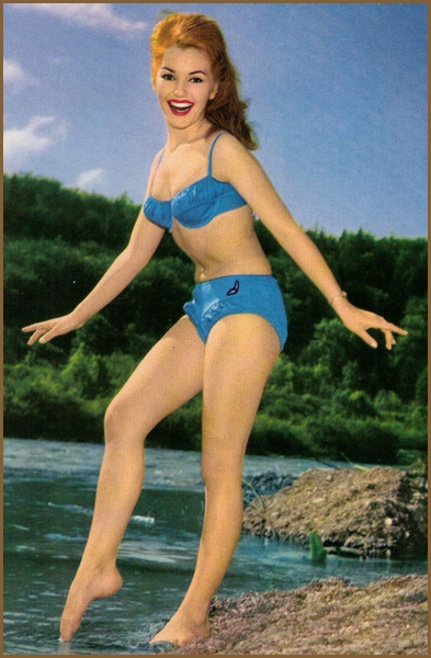 Margitta Scherr Pin-Up Bikini